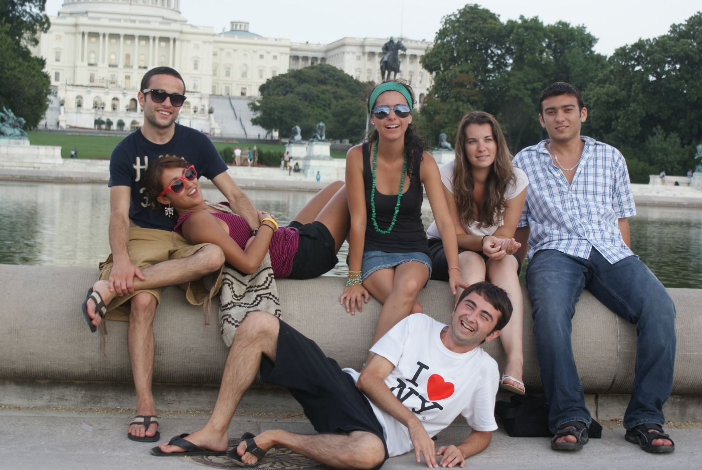 Friends in Washington DC