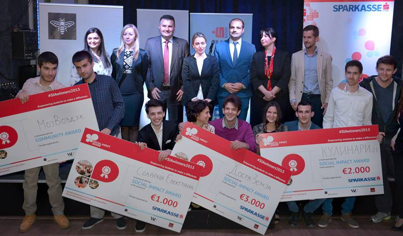 Alexander Dimeski, participant of the second Start up Academy, with innovative business idea took the Third place in the international contest for social entrepreneurship -Social Impact Award.